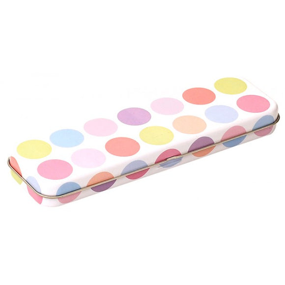 Bobble Art Spots Pencil Tin Case