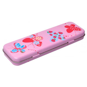 Bobble Art Butterfly Pencil Tin Case