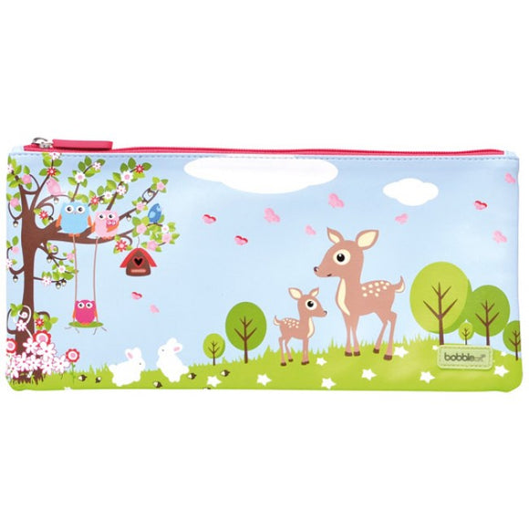 Bobble Art Woodland Pencil Case