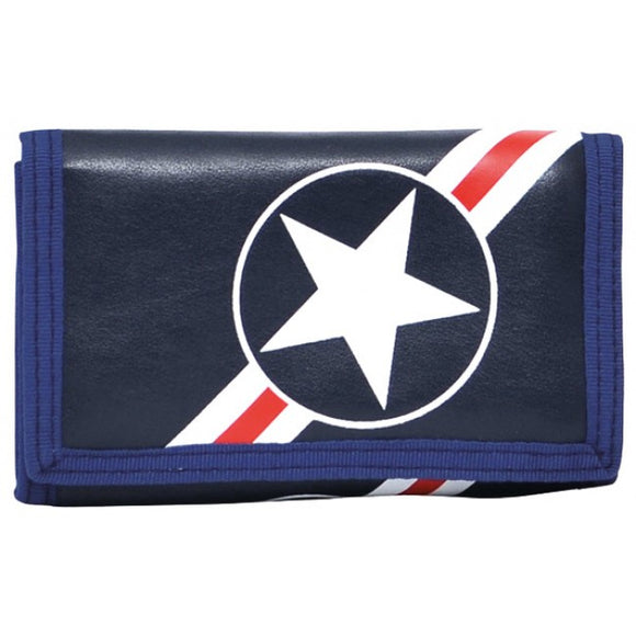 Bobble Art Star And Stripe Velcro Wallet
