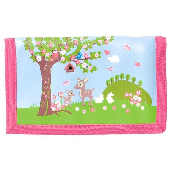 Bobble Art Woodland Velcro Wallet