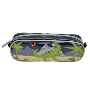 Bobble Art Dinosaur Barrel Pencil Case