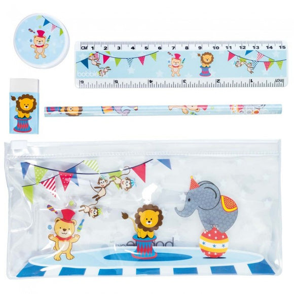 Bobble Art Circus Stationery 5pc Pack