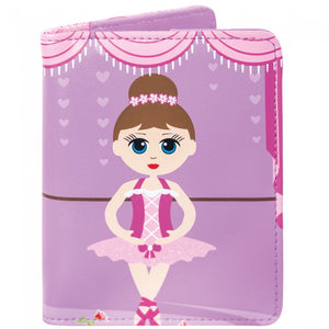 Bobble Art Glitter Ballerina Passport Holder
