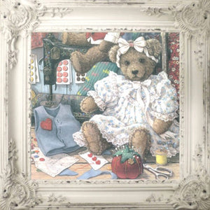 Carla Van Tiggelen Design | Framed Art - Teddy 1