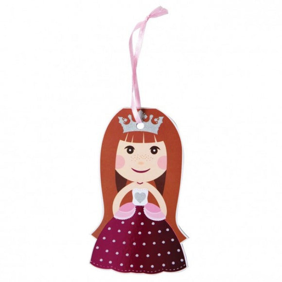 Dollyrockets Rock Princess Gift Tags - 12pk