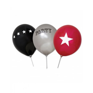 Dollyrockets Rock Star Balloons - 18pk