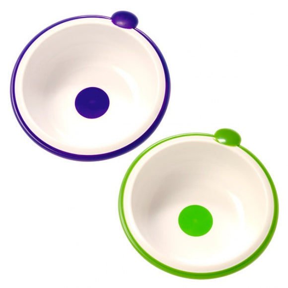 Dr Browns Purple Green Bowls - Pack of 2
