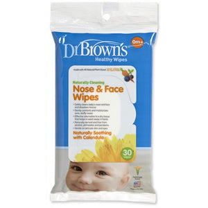 Dr Browns Healthy Wipes Nose and Face Wipes