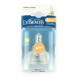 Dr Browns Narrow Neck Bottle Level 3 Teats Pack