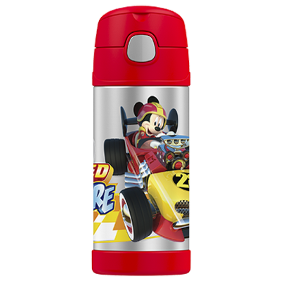 Thermos Funtainer 355ml Drink Bottle Mickey Mouse