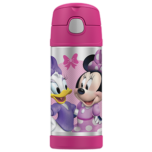 Thermos Funtainer 355ml Drink Bottle Minnie Mouse