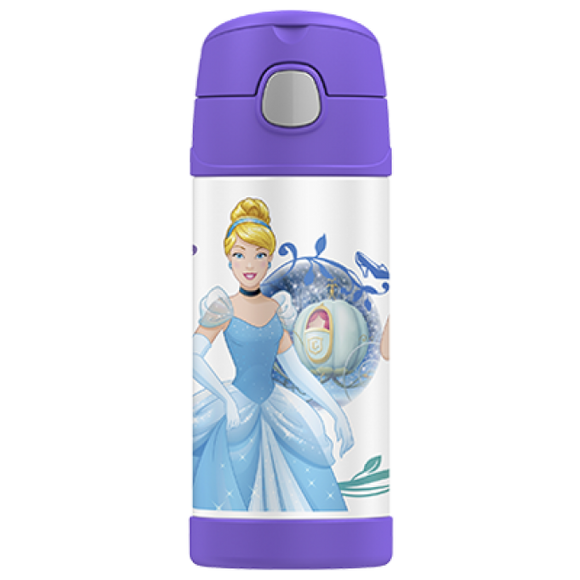 Thermos Funtainer 355ml Drink Bottle Disney Princess