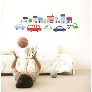 Forwalls On The Move Removable Wall Decal - In Use
