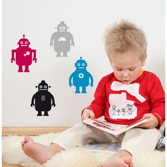 Forwalls Robots Wall Decal as display