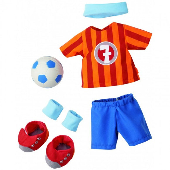 Haba Tony Soccer Dress Set (30 cm)
