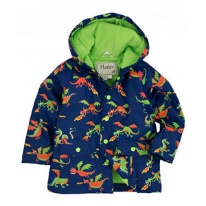 Hatley Dragons Infant Raincoat