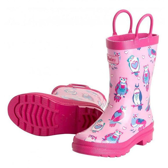 Hatley Happy Owl Kids Gumboots