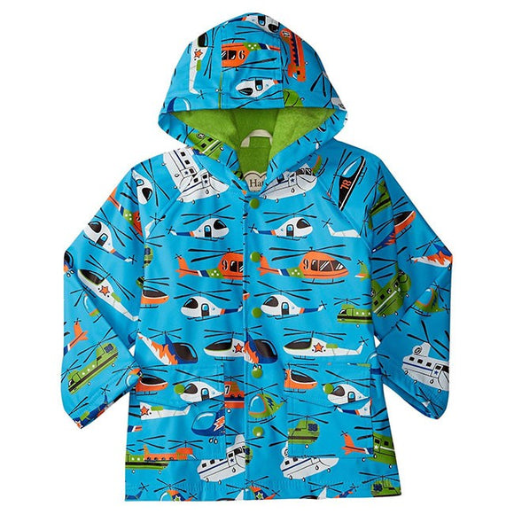 Hatley Helicopter Kids Raincoat