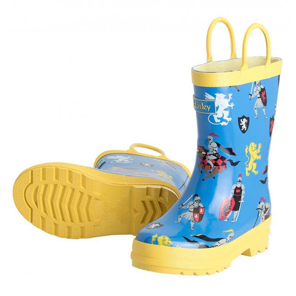 Hatley Medieval Knights Kids Gumboots