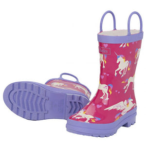 Hatley Unicorns and Rainbows Kids Gumboots