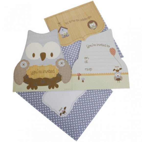 hiPP Little People Owl Invitations Kit