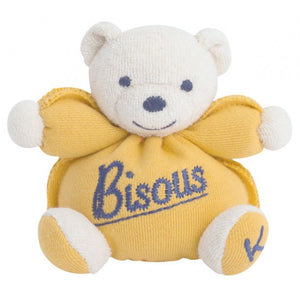 Kaloo Mini Sweet Bear In Yellow