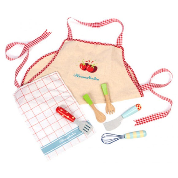 Le Toy Van Apron And Utensil Set 3+Yrs