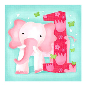 Little Chipipi Elephant One Greeting Card