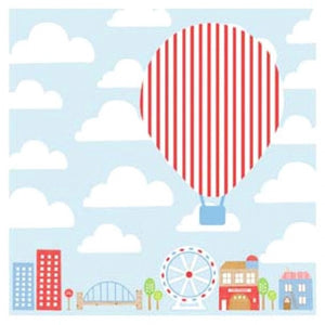 Little Chipipi Hot Air Balloon Greeting Card