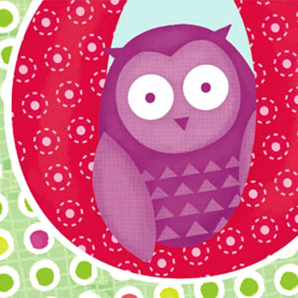 Little Chipipi Baby Owl Eco Greeting Card