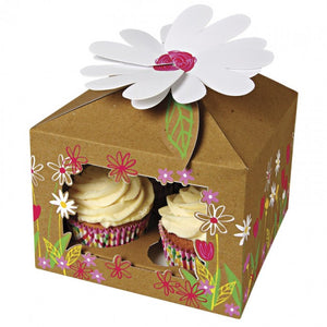 Meri Meri Little Garden Large Cupcake Box 3pk