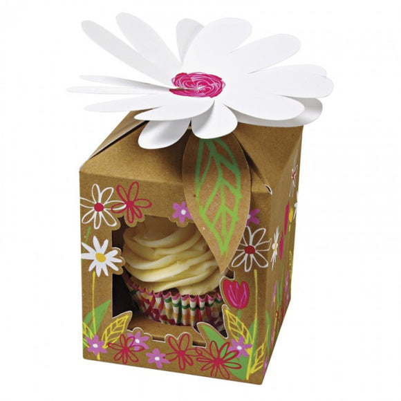Meri Meri Little Garden Small Cupcake Box 4pk