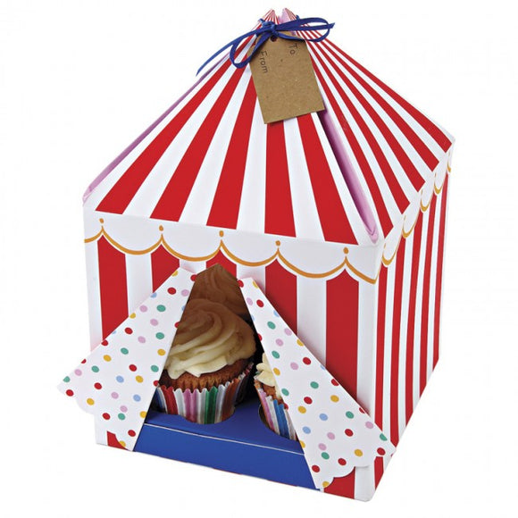 Meri Meri Toot Sweet Large Tented Cake Box 3pk