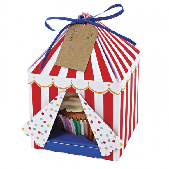Meri Meri Toot Sweet Small Tented Cake Box 4pk