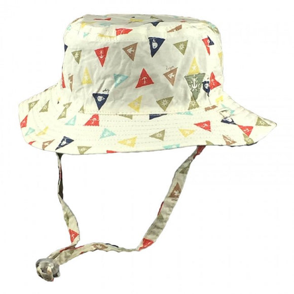 Dozer Baby Boys Bucket Hat - Ahoy Multi