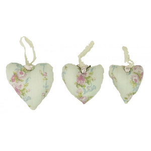 Miss Rose Sister Violet Scented Blue Floral Heart Pack