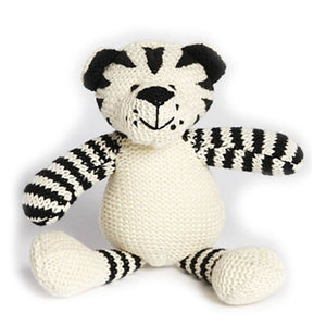 Nana Huchy Tommy the Tiger Knitted Baby Rattle