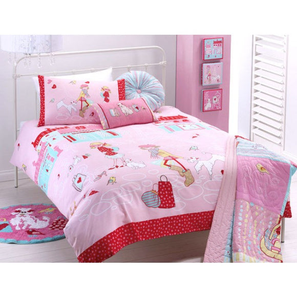 Jiggle and Giggle Born To Shop Quilt Cover Set