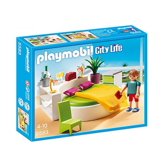 Playmobil City Life Modern Bedroom Set 5583