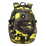 Yellow Camouflage Kids Backpack