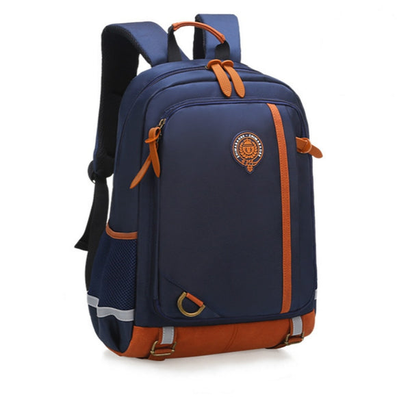 Blue Oxford Kids Backpack