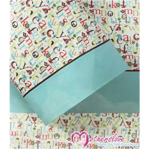 Skip Hop Alphabet Zoo 3 Piece Sheet Set - Cot Size