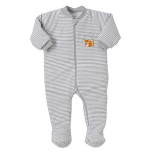 Snugtime Grey Fox Padded Blanket Sleeper