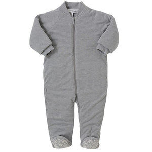 Snugtime Grey Marle Knit Padded Blanket Sleeper
