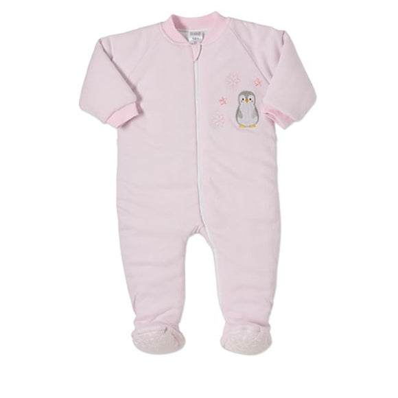 Snugtime Pink Penguin Padded Blanket Sleeper