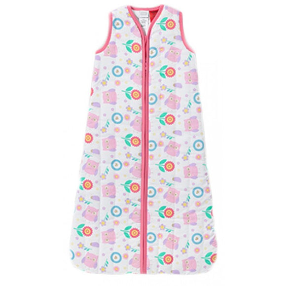 Snugtime Owl Padded Cotton Cosi Bag 2.2 Tog