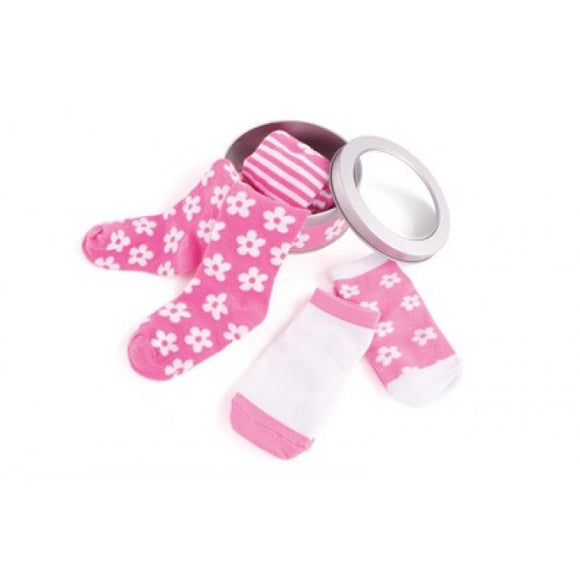 Penny Scallan Daisy Style Socks and Tights Pack-12-18mths
