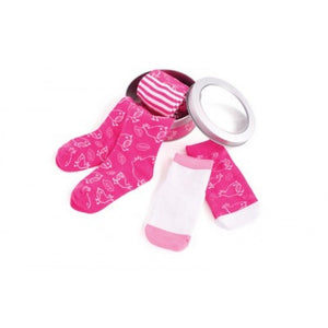 Penny Scallan Girly Bird Socks and Tights Pack-12-18mths