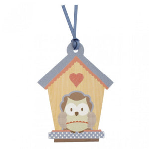 Owl Gift Tag for Little People